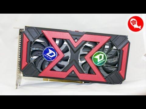 Видеокарта DATALAND Radeon RX560D из Китая   Разборка   Разблокировка шейдеров   Игровой тест