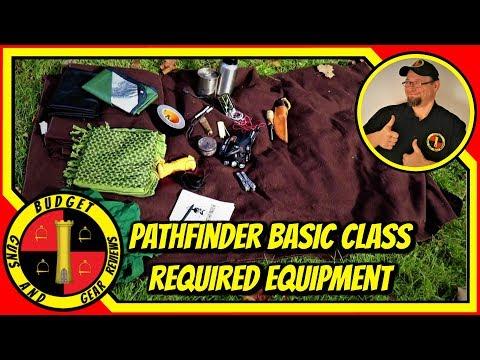 Pathfinder School Basic Class Equipment List