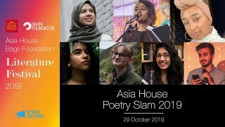 Asia House Poetry Slam 2019
