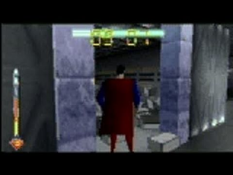 Superman (1999) Nintendo 64 Gameplay