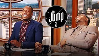 T-Mac & Pierce Laugh About Tristan Thompson Not Getting Playing Time | The Jump