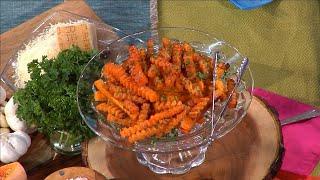 Parmesan Garlic Squash Fries from Chef Devin Alexander