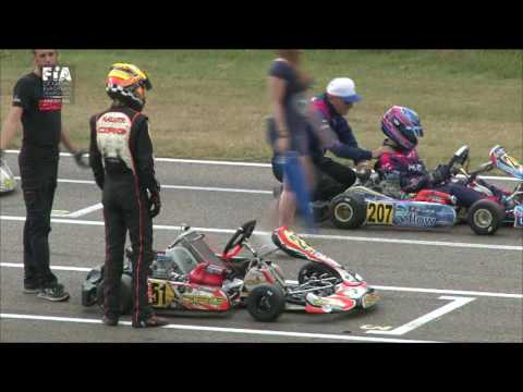 CIK FIA EUROPEAN CHAMPIONSHIP 2016 ROUND 4 OK JUNIOR FINAL