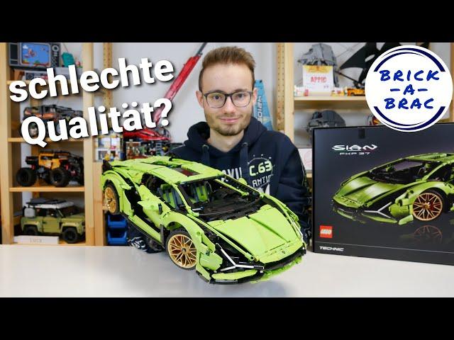 LEGO® Technic 42115 Lamborghini Sian FKP 37 // Wie schlimm sind die Farbabweichungen wirklich?