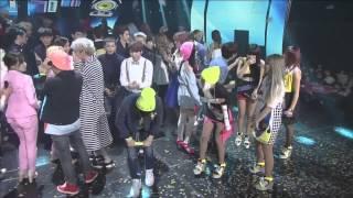 vuclip BAEKHYUN & TAEYEON 2014 Inkigayo Moments (Baekyeon)