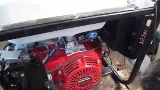 видео Ручной стартер на двигатель Honda GX 620