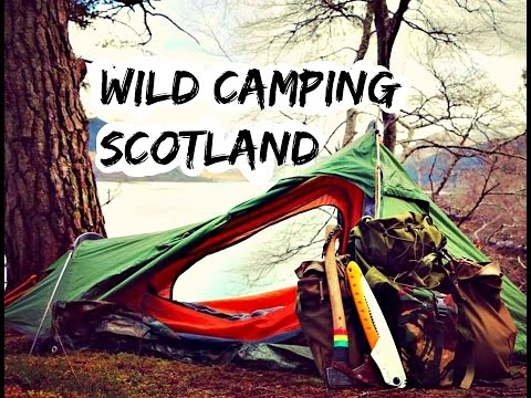 Wild Camping In The Scottish Highlands (part 1of 2)