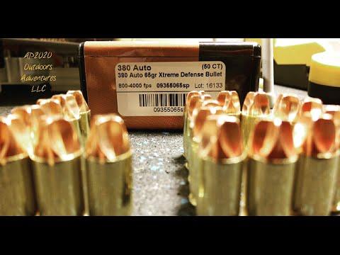 380 Auto 65gr Xtreme Defense® Ammunition