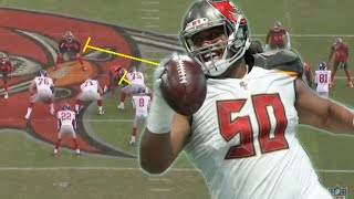 Film Study: Vita Vea is a MONSTER for the Tampa Bay Buccaneers