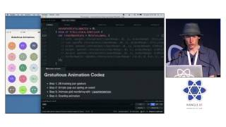 Spencer Ahrens - React Native: Building Fluid User Experiences at react-europe 2015