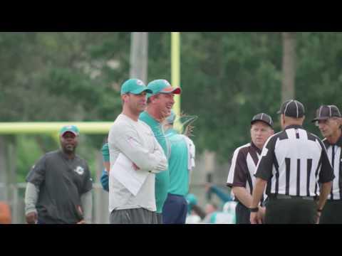 Coach Gase and Dan Marino Quick Hit