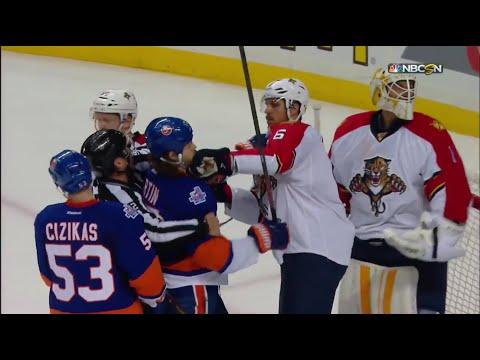 (Reupload) Florida Panthers @ New York Islanders. Round 1 Game 3