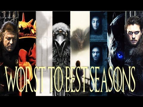 Ranking All 8 Seasons Of Game Of Thrones