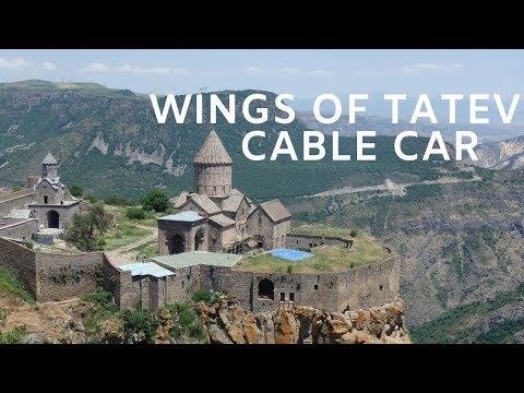 Wings Of Tatev Cable Way To Tatev Monastery, Armenia - The World's Longest Double Track Cable Car