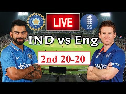 Live India Vs England 2nd T20 | India Lost The Match Vs England | Live Match Streaming | England Win