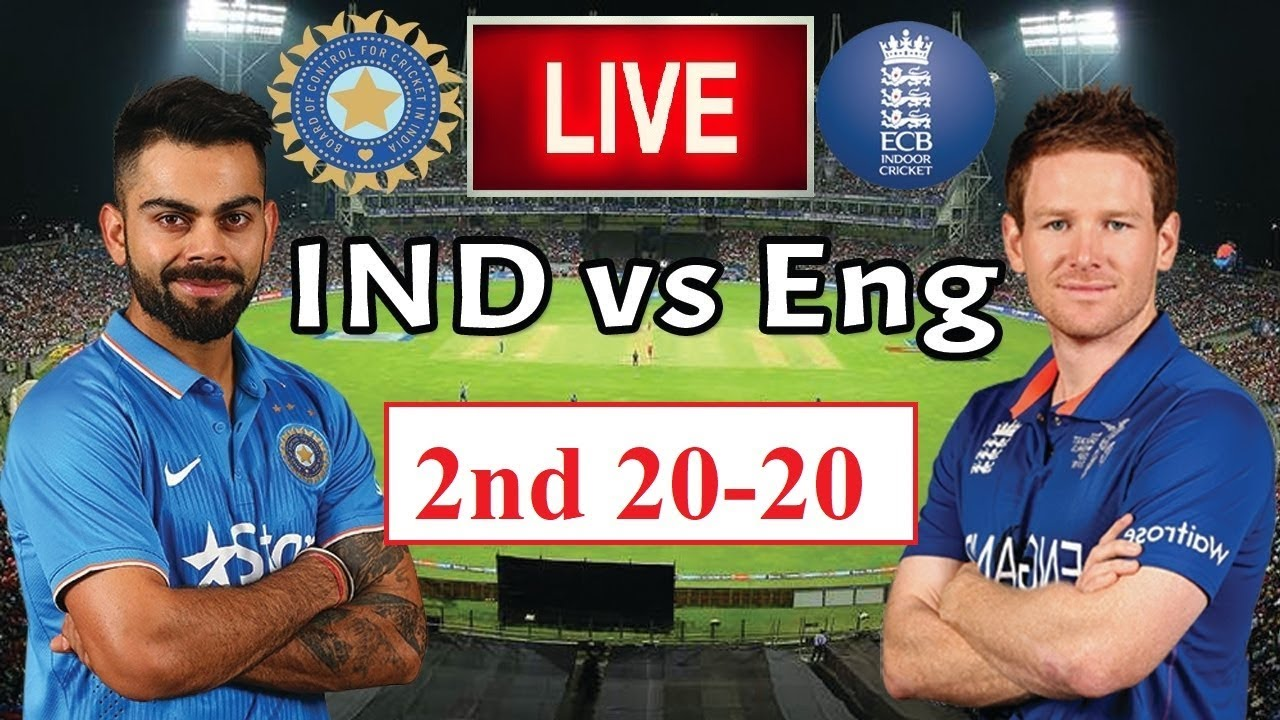 india vs england 2nd t20 live streaming in usa