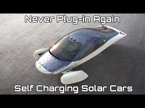 Self Charging Solar Car-Never Plug-in Again
