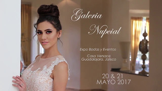 Daniela de Sthera Models en publicidad de Galeria Nupcial agencia de modelos Guadalajara