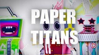 Paper Titans - Cамая бумажная игра на iOS! Обзор AppleInsider.ru