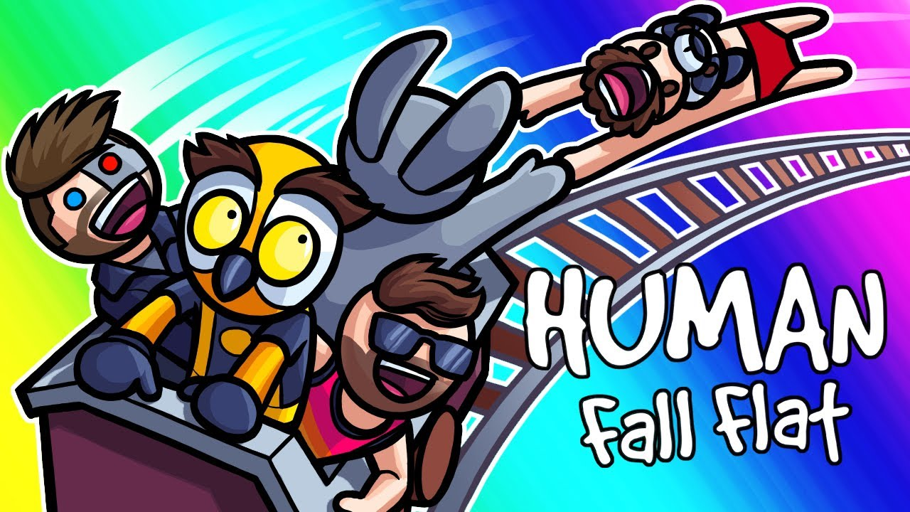 Human Fall Flat Funny Moments - Finding Frankenstein's Monster!