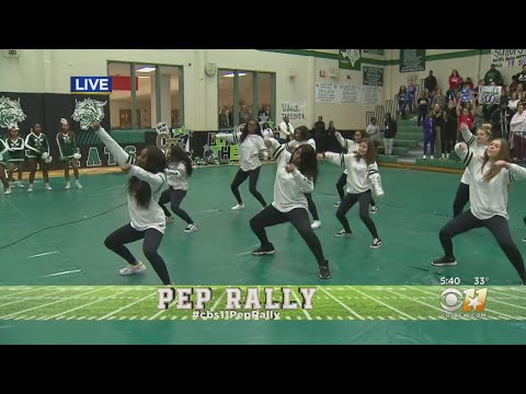 CBS 11 Pep Rally: Kennedale High School Drill Team