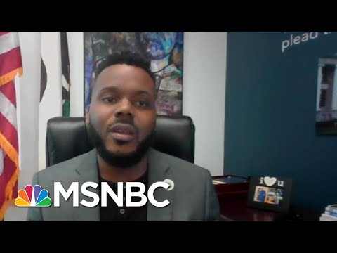 Stockton Mayor Michael Tubbs Calls For Addressing 'The Violence Of Poverty'   MTP Daily   MSNBC