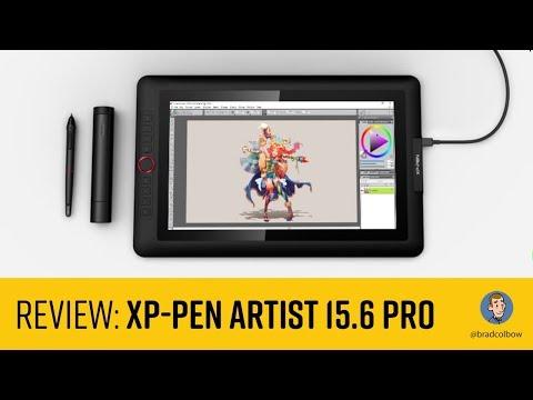XP-Pen Artist 15.6 Pro review