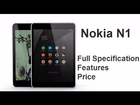 Nokia N1 Tablet Full Specification, Review, Price in India ...