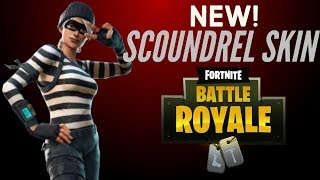 NEW SCOUNDREL SKIN GAMEPLAY! FORTNITE BATTLE ROYALE