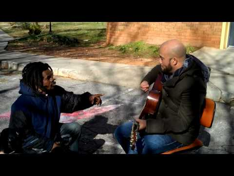 Homeless Man Joins Carlos Whittaker In Song - Danny God OF Second Chances