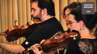 Jonathan Mesonero, violín. Entrevista y ensayo: Estaciones Porteñas de Astor Piazzolla..