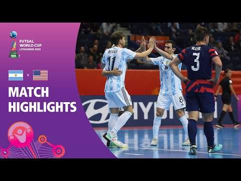 Argentina v USA   FIFA Futsal World Cup 2021   Match Highlights