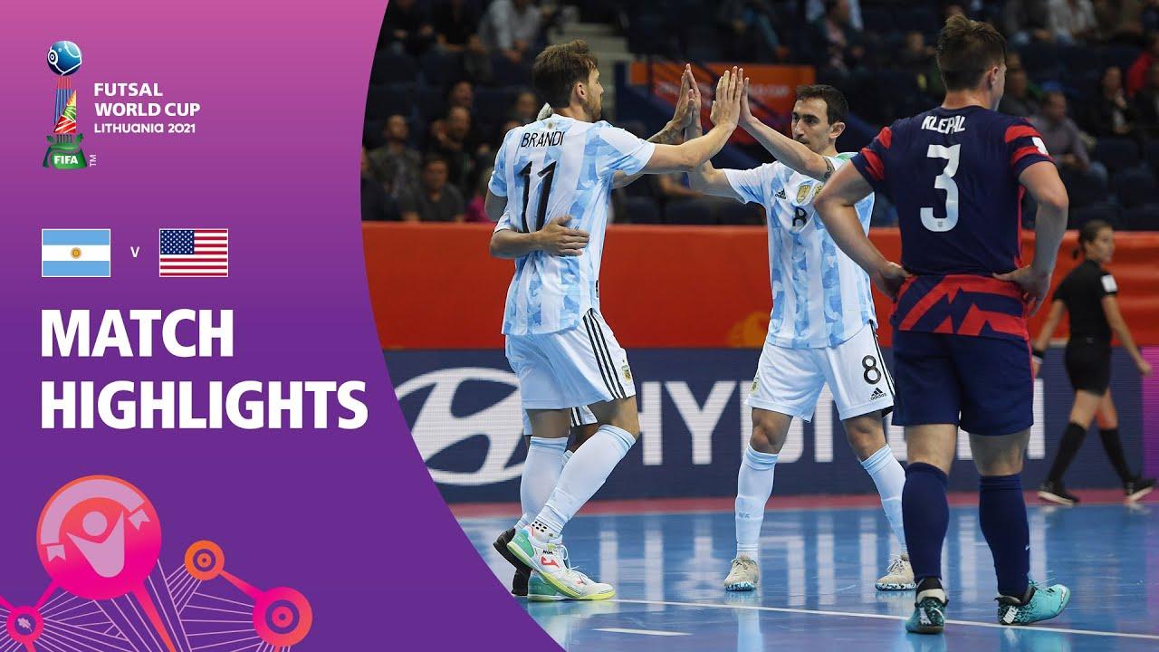Download Argentina v USA | FIFA Futsal World Cup 2021 | Match Highlights