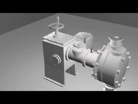 Diaphragm metering pump - Animation in Blender
