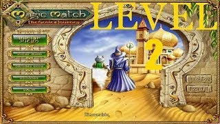 Magic Match   The Genie`s Journey  nivel 2 ( PC GAME)