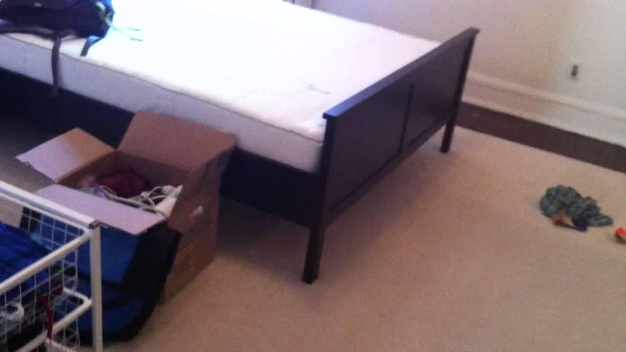 ikea hemnes bed frames assembly service video in woodbridge va by furniture assembly experts llc - Hemnes Bed Frame
