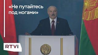 Александр Лукашенко — о России и оппозиции