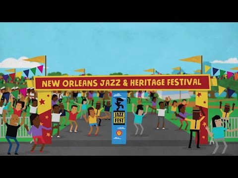 No Jazz Fest >> Official Jazz Fest 2017 Talent Announcement Video Youtube