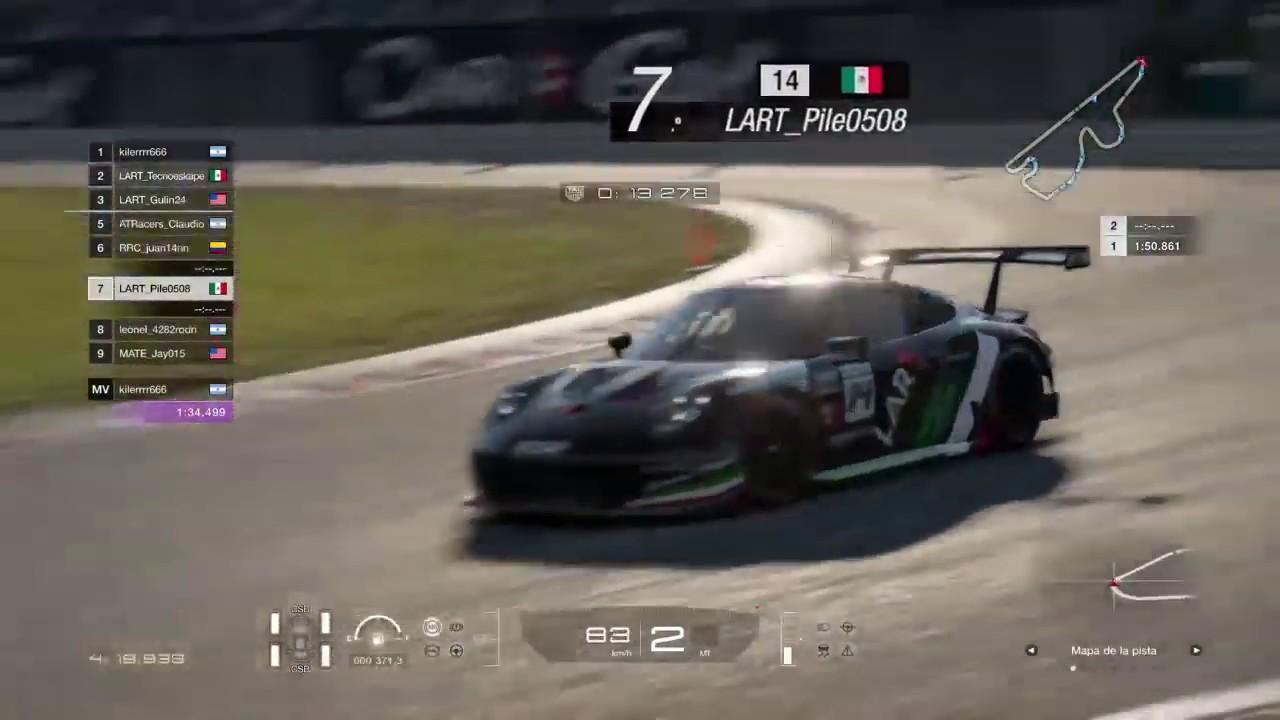 Campeonato Gran Turismo Sport Latam Gr3 Fecha 1