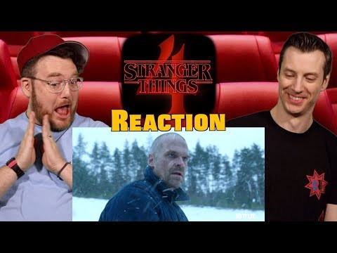 Strangers Things Season 4 'From Russia With Love' - Reaction
