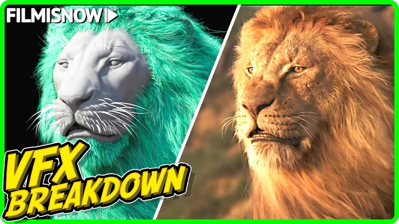 THE LION KING | VFX Breakdown by MPC (2013)