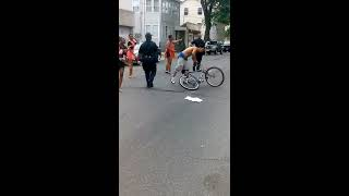 fight in Puerto Rican parade Passaic New Jersey