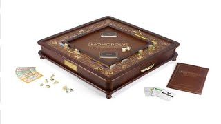 UNBOXING MONOPOLY LUXURY EDITION