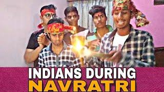 Indians During Navratri | Navratri Funny Video 2018 | हंसना छोड़ दोगे दोस्तों | Chinga Munga