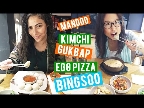 Korean Food ft. Alex Reid of RaNia ♦ Tour of Gangnam