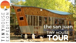 Creative Couple Builds an Amazing Tiny House with Reclaimed Materials