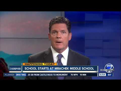 School starts at Mrachek Middle School today