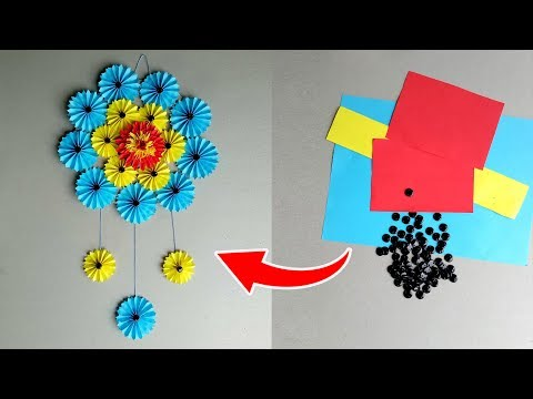 How to Make Paper Wall Hanging Very Simple And Easy