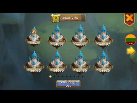 Guild Wars Easy 1k Points Strategy for Low Might Castle Clash Lithuania