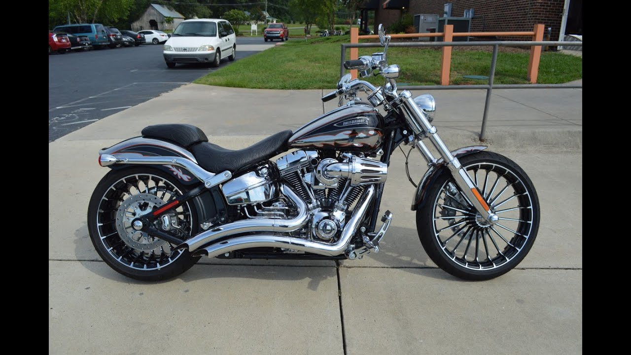2014 harley davidson fxsbse cvo breakout w vance hines pipes 0950 youtube